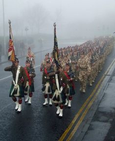 3rd Battalion of the Royal Regiment of Scotland, formerly the Black Watch.