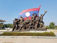 Laos. Statue at Kay Sone Museum. Kaysone Phomvihane Museum Opened in 1995 to celebrate the late president's 75th birthday, the Kaysone Phomvihane Museum serves as a tribute to Indochina's most pragmatic communist leader. The museum is a vast Vietnamese-style celebration of the cult of Kaysone, a cult he himself never encouraged.