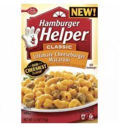Cette savoureuse préparation élaborée par Betty Crocker réunit 2 plats américains en 1: les hamburgers et les macaronis & cheese. Ce plat me rappelle toujours mon enfance, j'adorais quand ma mère me le préparait. Je l'apprécie toujours autant. A votre tour de découvrir ce plat complet et de partagez avec moi un bon souvenir de mon enfance! #epicerieamericaine #mylittleamerica #hamburgerhelper #bettycrocker #cheeseburgermacaroni
