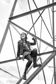 Hanging Around the Power Tower by xhearingxcolorsx on deviantART