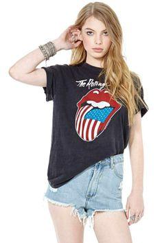 Rolling Stones In America Tee