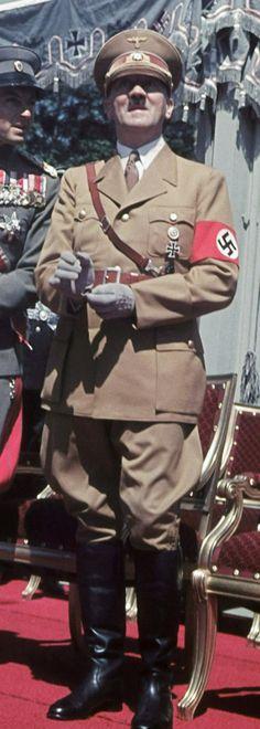1939 Berlin Hitler wearing his NSDAP Political Leader uniform
