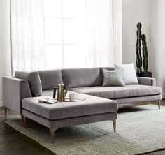 West elm sectional