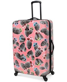 """Image 5 of Jessica Simpson Cactus Printed 29"""" Hardside Spinner Suitcase"""