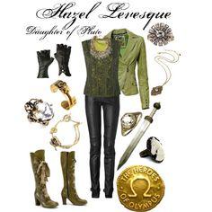"""""""Heroes of Olympus: Hazel Levesque"""" by ghsdrummajor on Polyvore"""