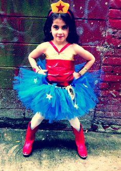 Girls Superhero Tuto Costumes