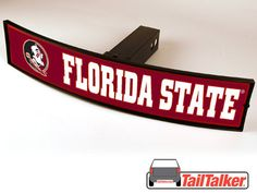 Florida State Seminoles Trailer Hitch Cover by tailtalker on Etsy