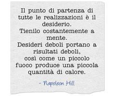 Napoleon Hill Il punto di partenza di tutte le realizzazioni | ispirazioni.info