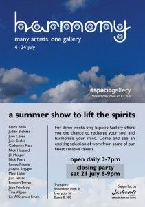 Harmony exhibition at Espacio Gallery. A Summer Show to Lift the Spirits July 2012 A Summer Show to Lift the Spirits July 2012 Jackson's Art, Caves, Art Blog, Spirit, Gallery, Artist, Summer, Space, Summer Recipes