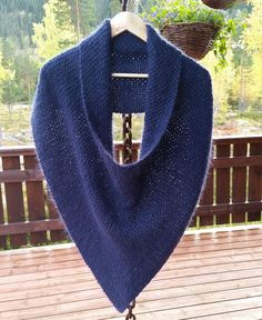It's not exactly a poncho. And not a shawl. Or a cowl. And it's not a circular scarf. It's all of the above.