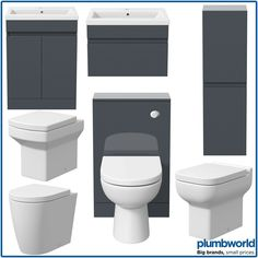 Bathroom Furniture Basin Vanity Toilet WC Unit Tall Cabinet Gloss Grey Modern · $209.99 Toilet Vanity Unit, Sink Vanity Unit, Vanity Basin, Bathroom Vanity Units, Bathroom Ideas, Bathroom Sink Taps, Bath Shower Mixer Taps, Bathrooms, Cabinet Furniture