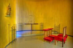 Chapel Of Alvorada Palace, Brasilia (Brazil), Oscar Niemeyer
