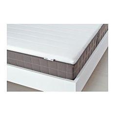 IKEA - TALGJE, Overmadrass, 160x200 cm, , Polyeterfyll gir en myk soveflate.Overmadrassens trekk med stretch gjør at den beveger seg med deg og gir maksimal komfort.Enkel å holde ren siden du kan ta av trekket og vaske det i maskin.Sammenrullet – enkel å frakte hjem.