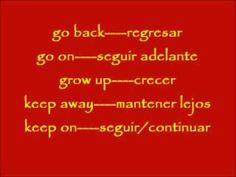 CURSO BASICO DE INGLES # 26. FRASES VERBALES DEL INGLES 2 - Phrasal verbs