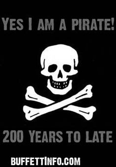 """The cannons don't thunder there's nothing to plunder, I'm an over 40 victim of fate."" (Jimmy Buffett 'A Pirate Looks at . Fort Myers Beach, Jimmy Buffett, Pirate Theme, Pirate Party, Black Sails, Pirate Life, Jolly Roger, Pirates Of The Caribbean, My Love"