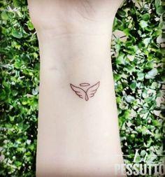 44 New Ideas for tattoo designs minimalist tat Disney Tattoo Mini Tattoos, Dainty Tattoos, Little Tattoos, Cute Tattoos, Body Art Tattoos, White Ink Tattoos, Memory Tattoos, Dad Tattoos, Tattoos Skull