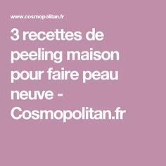 3 recettes de peeling maison pour faire peau neuve - Cosmopolitan.fr