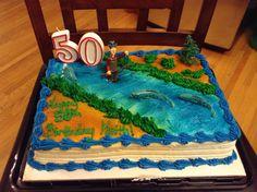 Keith's 50th birthday cake