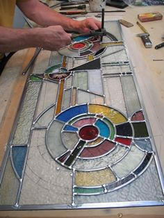 Mirror Stained Glass Patterns, 90+ Stained Glass Designs on CD