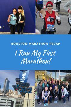 2019 Houston Marathon Recap  I Ran My First Marathon! bed70897507