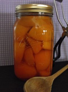 Home Canned Peaches used this rcipe 7/14/2013