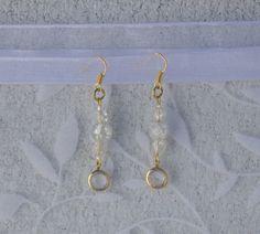 Golden Drop Earrings