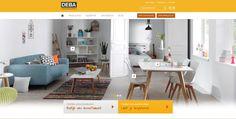 Nieuwe website voor Deba Meubelen