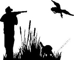 Duck Hunting Decal Sticker 36