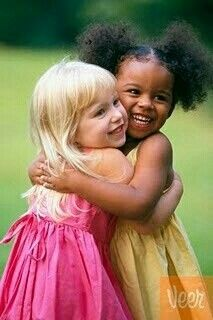 If we all had the spirit of little children, what a wonderful world it would be. They don't hate. Only love and forgiveness.