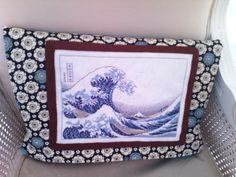 La vague d'Hokusai - Japon au point de croix