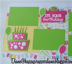 Create a Critter Birthday layouts | Project Center - Create a Critter 2 Contest - Birthday Layout