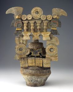Ceramic Guatemalan incense burner, Tiquisate region, circa North Carolina Museum of Art South American Art, Mesoamerican, Inca, Incense Burner, Objet D'art, Ancient Artifacts, Ancient Civilizations, Art And Architecture, Archaeology