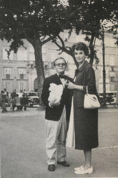 Truman Capote and Barbara