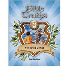 Bob Jones Bible Truths 3 Student Textbook