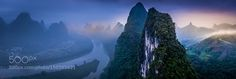 Sunrise in Guilin by RAW-DOGS via http://ift.tt/1VLDs5a