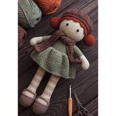 Crochet doll, amigurumi. Handmade doll. Вязаная кукла ручной работы. Кукла крючком. Амигуруми. #crochet #dollmaker #crochetdoll #handmadedoll #amigurumidoll #crochettoy #amigurumitoy #amigurumi #амигуруми #куклакрючком #вязанаякукла #вязание