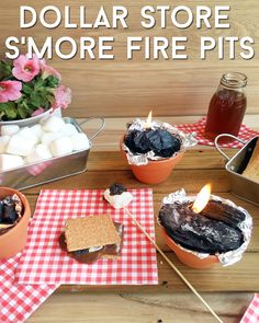 How to have a mini s'more party!