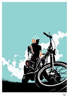 Matt Taylor #Bicicleta #Ilustração #avidaearte