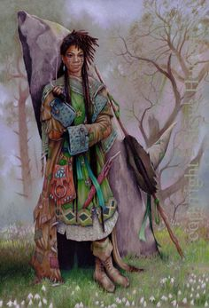 'Lana Zuri' the Ward of season Snow-Thaw at Wildwood-coven & close friend to Valonia the coven-mother.