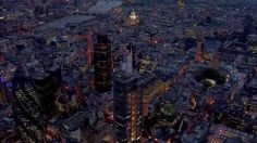 London - A drone's eye view of amazing London City!