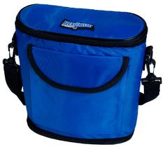 Cool! :)) Pin This & Follow Us! zCamping.com is your Camping Product Gallery ;) CLICK IMAGE TWICE for Pricing and Info :) SEE A LARGER SELECTION of camping coolers at   -  #hunting #campingaccessories #camping #insulatedbags #coolers #campinggear #campsupplies -  FlexiFreeze Re-Freezable Slimline 6 Can Cooler (Royal Blue) « zCamping.com