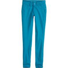 Colored Knit Jeggings pants ($44) via Polyvore