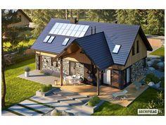 Projekt Domu Nikolas G1 135.76 m2 - All4u