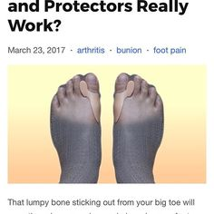 Anyone that doesn't have a foot condition that relates to hammer toes, bunions and overlapping toes most likely hasn't come across these types of gel sleeves before. To the unknowing, they're quite the unusual products. Hammer Toe, Big Toe, Bunion, Foot Pain, Stick It Out, Feet Care, Wraps, Sleeves, Design