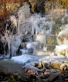 Ice Sculptures, Clifton Gorge, Yellow Springs, Ohio