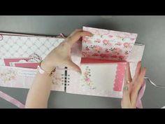 YouTube Solo Album, Album Scrapbook, All Paper, Mini Books, Paper Design, Stationery, Paper Crafts, Big Shot, Notebooks