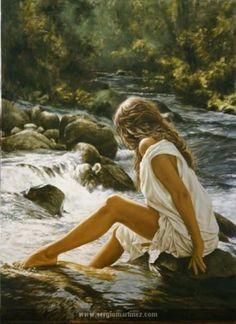 Sergio Martínez Cifuentes-At the river