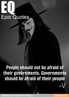 Quote From Film V For Vendetta