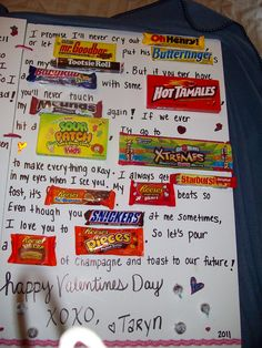 1000+ images about Valentines Day ️ on Pinterest | Candy cards ...