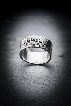 STITCHES ring by missyindustry on Etsy
